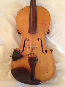 Violin closeup